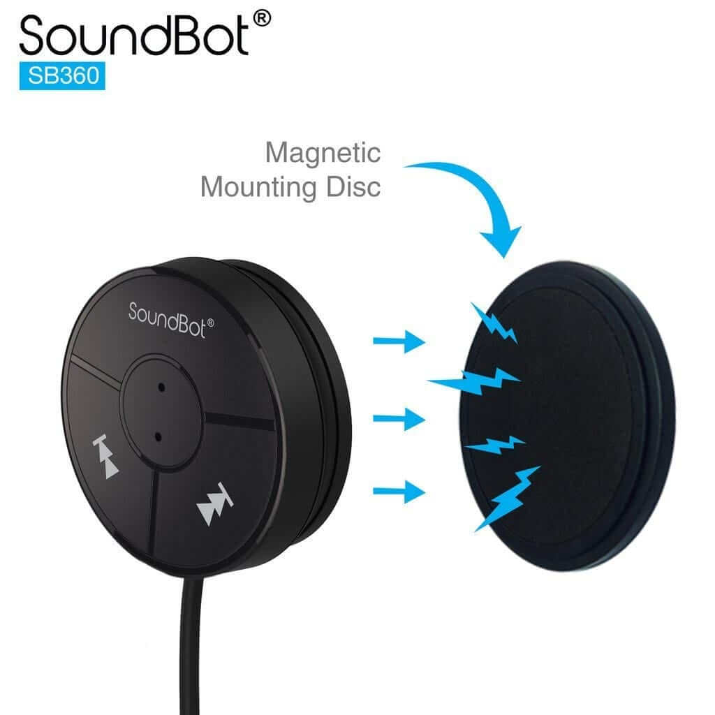SoundBot SB360 Bluetooth® 4.0 para automóvil